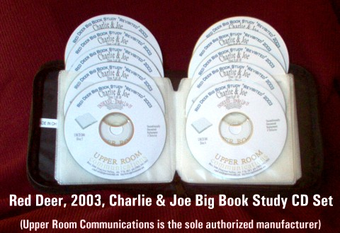 Joe & Charlie Big Book Study PKG #3 - 10 CDs - Shipping Included
